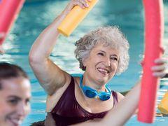 Wassergymnastik im Thermalsolbad